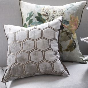 Pude Manipur Oyster by DesignersGuild