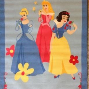 Løse tæpper Prinsesse Blå