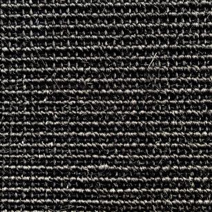 Væg til væg tæppe Sisal black