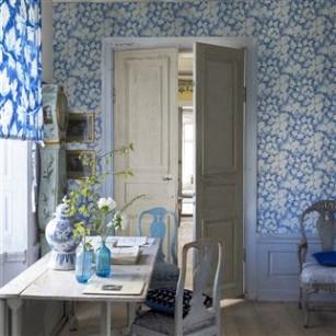 Fresco leaf designer tapet by Designers Guild