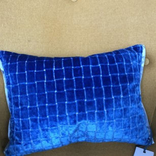 Pude Leighton cobalt by Designers Guild