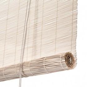 Rullegardin hvidt bambus by Colour & Co