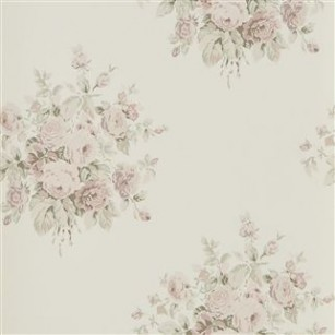 Tapet Wainscott Floral Antique Rose by Ralph Lauren