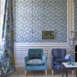 Delahaye designer tapet by Designers Guild