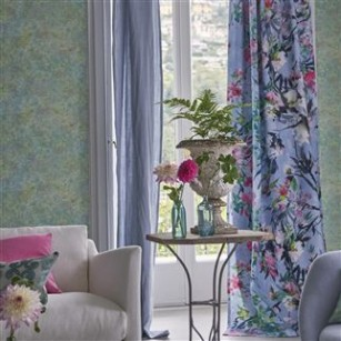 Stof Faience Cornflower by Designers Guild