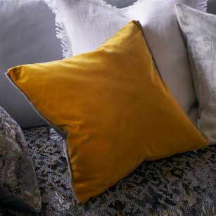 Pude Varese Amber by DesignersGuild
