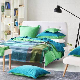 Plaid Bampton Emerald by DesignersGuild