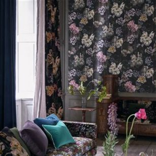 Tapet Delft Flower Grande by Designers Guild