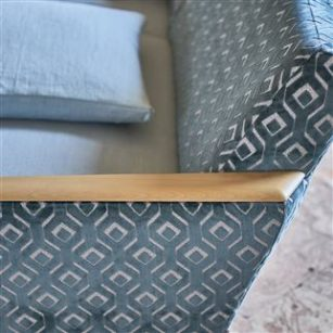Stof Chareau Azure by Designers Guild
