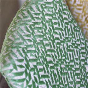 Stof Dufrene by Designers Guild - grønlige nuancer