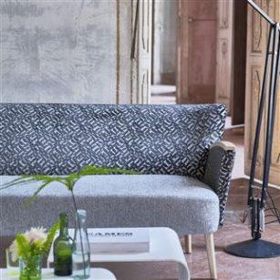 Stof Dufrene by Designers Guild - grå nuancer