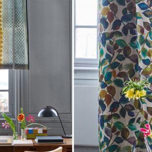 Gardin og møbelstof Sumi i to farver by DesignersGuild