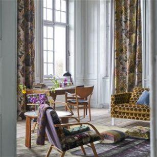 Gardin og møbelstof Kashmiri Ocher by DesignersGuild