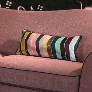 Designerpude Pietra Dura Multicolore by Christian Lacroix