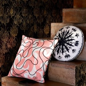 Designerpude Feu Follet Bourgeon by Christian Lacroix