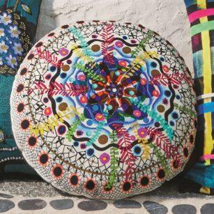 Designerpude Rosetta Multicolore by Christian Lacroix