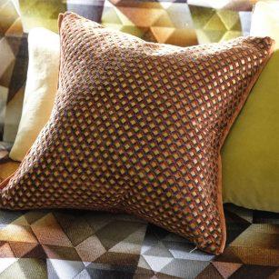 Designerpude Portland Terracotta by Designersguild