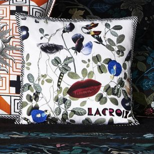 Designerpude Dame Nature Printemps by Christian Lacroix