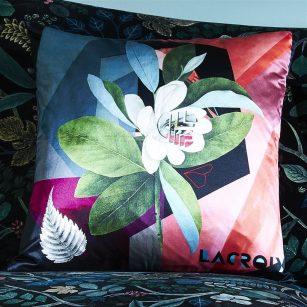 Designerpude Cubic Orchid multicolore by Christian Lacroix