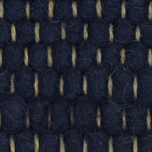 Løse Designer tæpper Tisca Olbia Polar dark blue