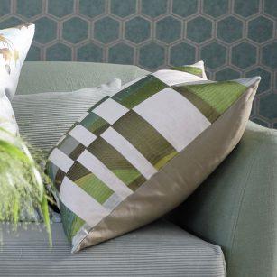 Designerpude Glasshouse Celadon by DesignersGuild