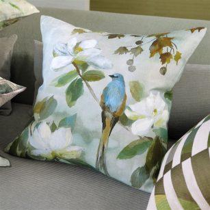Designerpude Kiyosumi Celadon by DesignersGuild