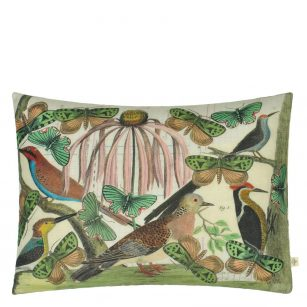 Designerpude Floral Aviary Parkment by John Derian