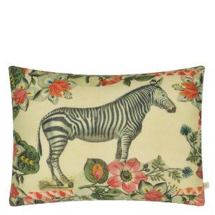 Designerpude Zebras Sepia by John Derian