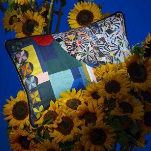 Designerpude Mosaic Freak Multicolore by Christian Lacroix
