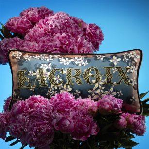 Designerpude Lacroix Cherry! Bleu Denim by Christian Lacroix