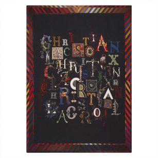 Designerplaid Do You speak Lacroix ? multicolore by Christian Lacroix