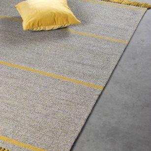 Løse tæpper Copenhagen Yellow 080 by HC.
