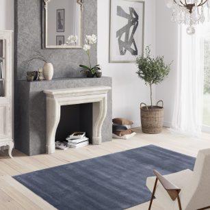 Løse tæpper Finesto Dusty Blue 099 by HC
