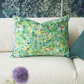 Designer pude Odisha Peridot Velvet by Designers Guild
