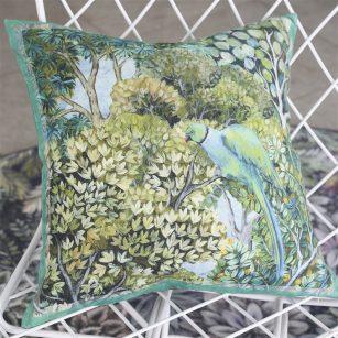 Designer pude Haryana Emerald Linen by Designers Guild